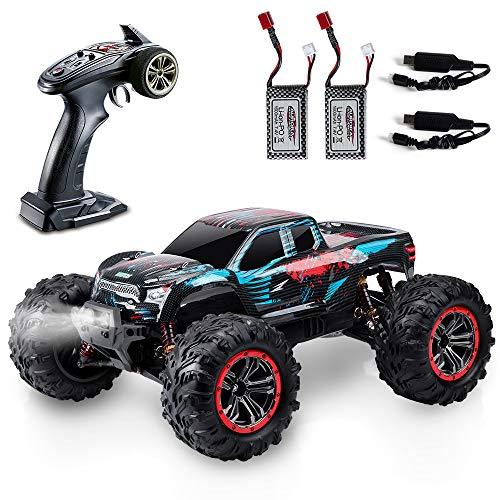 VATOS RC Auto 1:10 Fernbedienung 80M 46 km/h 4x4 4WD 2,4 GHz Funksteuerung Monster Truck Rock Racing...