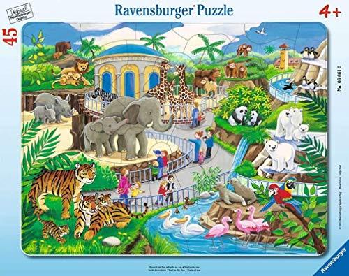 Puzzle 'Besuch im Zoo'