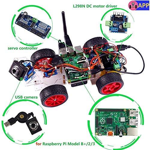 Roboterbausatz für den Raspberry Pi von SunFounder