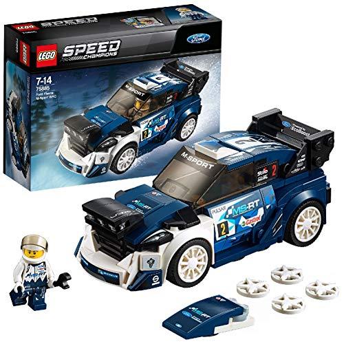 LEGO Speed Champions 75885 - Ford Fiesta M-Sport WRC, Konstruktionsspielzeug