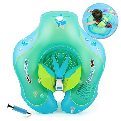 HONGCI Baby Schwimmring Baby Float Schwimmreifen mit Pumpe, Baby Schwimmen Ring Baby Schwimmhilfe Kinder...