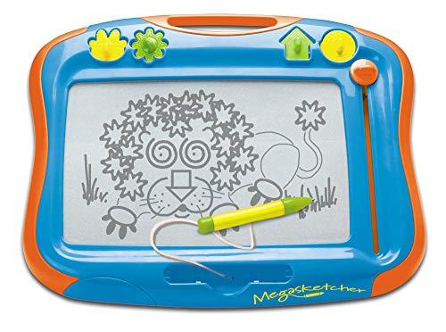 TOMY T6555 Magnettafel für Kinder, Magnet Maltafel, Megasketcher, Mehrfarbig, hochwertiges...