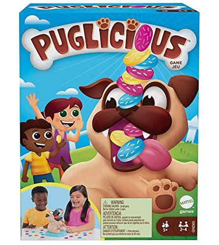 Mattel Games GND65 - Puglicious Spiel für Kinder ab 5 Jahren