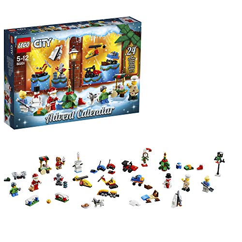 LEGO City Adventskalender Bauset