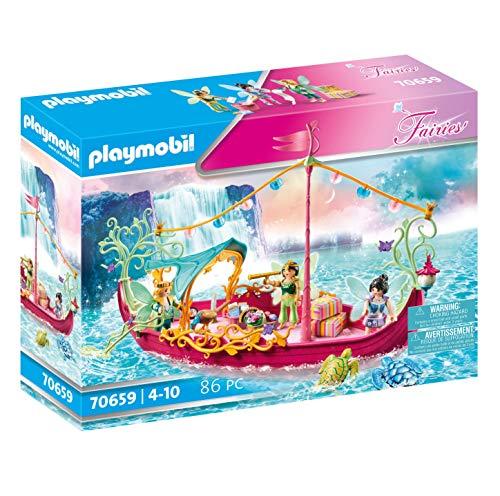 PLAYMOBIL Fairies 70659 Romantisches Feenboot, Ab 4 Jahren