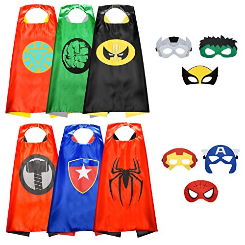 Easony Spielzeug 3 4 5 6-10 Jahren Junge,Superhelden Kostüm für Kinder Geschenk Junge 3 4 5 6-10 Jahre...