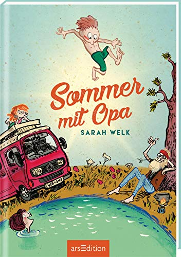 Sommer mit Opa (Spaß mit Opa 1): Kinderbuch für Jungen und Mädchen ab 9 Jahre | Lustige...