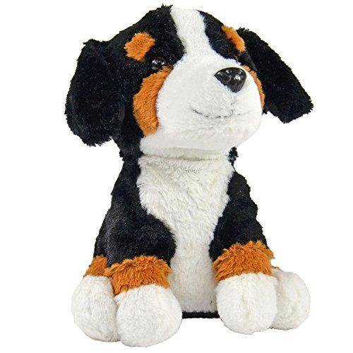 Kögler 75912 - Labertier Berner Sennenhund Bernd, ca. 18 cm groß, nachsprechendes Plüschtier mit...