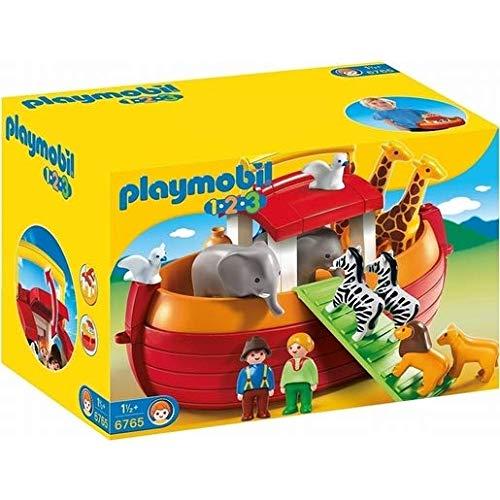Playmobil – 6765 – 1.2.3 – Meine Mitnehm-Arche Noah