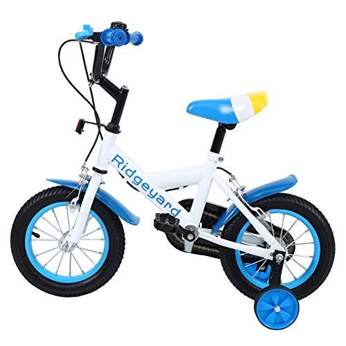 MuGuang 12' Kinder Fahrrad Kid Balance Baby Study Lernen Reiten Bike Boys Mädchen Fahrrad mit...