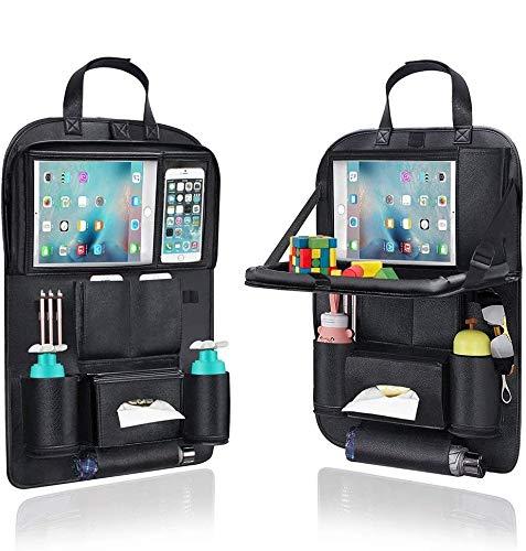 Organizer Auto, AresKo Auto Esstisch Rückenlehnenschutz mit Touch Screen Tablet Halterung Auto für...