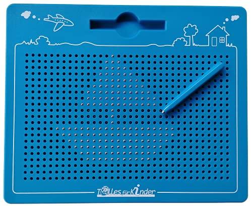 TollesfürKinder Magnetspiel für Kinder - Magnet Zaubertafel mit Kugeln und Stift - Tolle Beschäftigung...