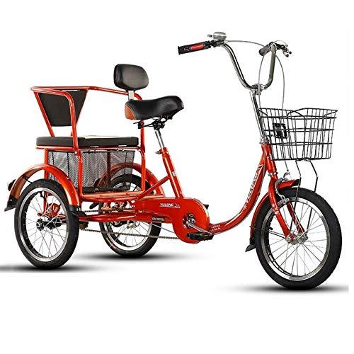 Kleines Cruise Bike für Erwachsene mit Dreirad, Pedalfahrrad mit Fitness- / Rehabilitationstraining,...