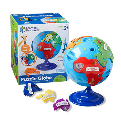 Learning Resources LER7735 Puzzle Globus