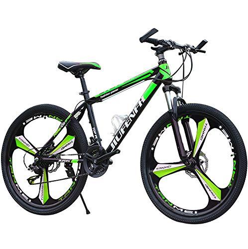 HT&PJ Mountainbike, Fahrrad 24 Zoll Jung, 21-Gang, VorderradgabelaufhÄngung Mit Verriegelungsfunktion,...