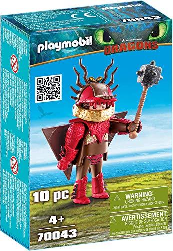 PLAYMOBIL 70043 Dragons Rotzbakke mit Fluganzug, bunt