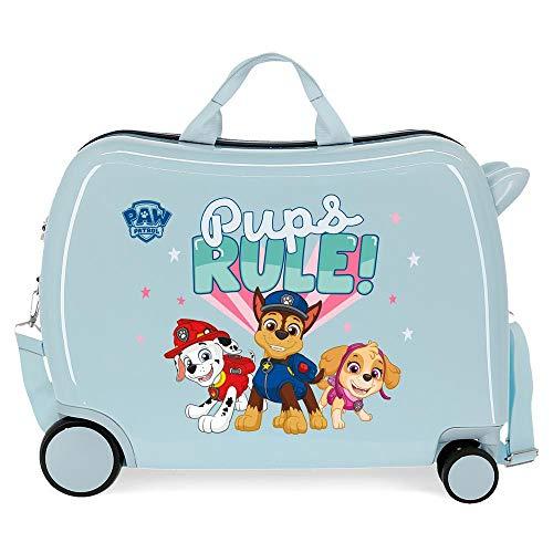 Paw Patrol Paw Patrol Playful Kinderkoffer, Blau, 50 x 38 x 20 cm, starrer ABS-Kombinationsverschluss...