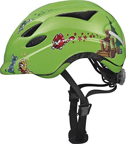 ABUS Unisex - Kinder Fahrradhelm Anuky, 08184, Grün (green catapult), Gr. S (46-52 cm)