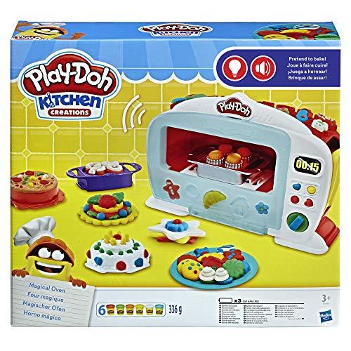 Play-Doh B9740EU50 Hasbro Play-Doh B9740EU4 - Magischer Ofen Knete, für fantasievolles und kreatives...