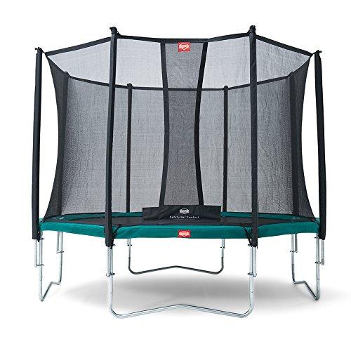 Berg Toys 35.12.01.01 Trampolin Favorit 380 inklusiv Sicherheitsnetz Comfort