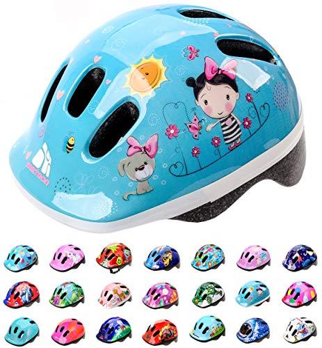 meteor® Kinderfahrradhelm Sicherer Fahrradhelm Kinder-Helm rollerhelm mädchen kinderfahrradhelm für...