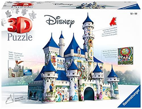 Ravensburger 3D Puzzle 12587 - Disney Schloss - 3D Puzzle für Erwachsene und Kinder ab 10 Jahren, Disney...