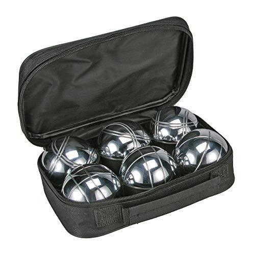 Bouleset Boccia Set 6X 720g Metallkugeln Boulekugeln Petanque Maßband Tasche