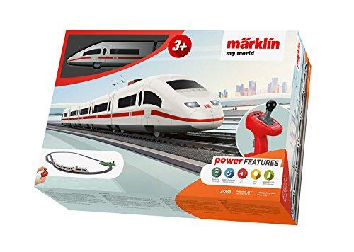 Märklin 29330 my world ‐ Startpackung Ice 3, Modelleisenbahn für Kinder ab 3 Jahre, Licht-und...