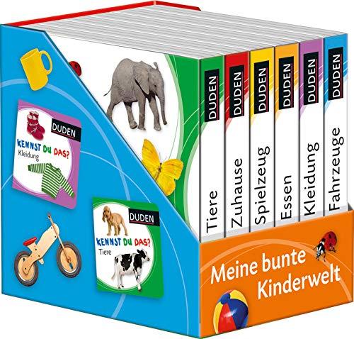 Kennst du das? Meine bunte Kinderwelt: 6 Mini-Bücher (DUDEN Pappbilderbücher Kennst Du das?)