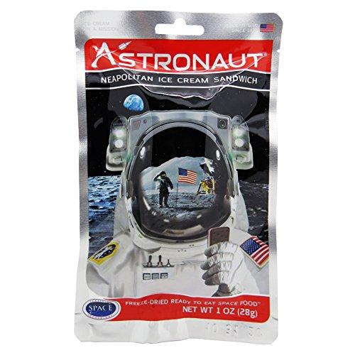 Astronaut Food - Astronaut Neapolitain Ice Cream Sandwich