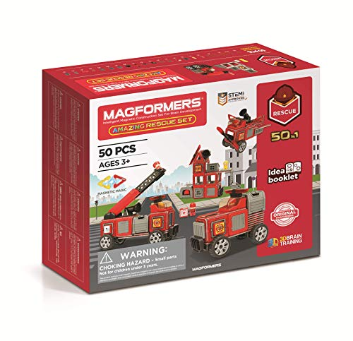 MAGFORMERS GmbH Magformers Amazing Rescue Set 50T, bunt