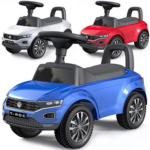 Baby-pur VW Kinderauto Rutscher Rutschauto Laufauto Volkswagen T-ROC Jungen und Mädchen
