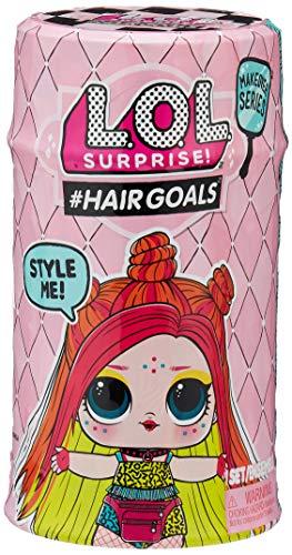 L.O.L. Surprise! 557067E7C #Hairgoals Doll Makeover Series 2 Sammelfigur mit Haaren zum Frisieren und...
