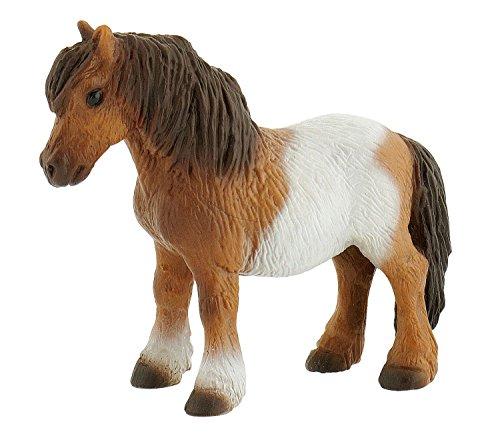 Bullyland 62566 - Spielfigur, Shetlandpony, liebevoll handbemalte Figur, PVC-frei, tolles Geschenk für...