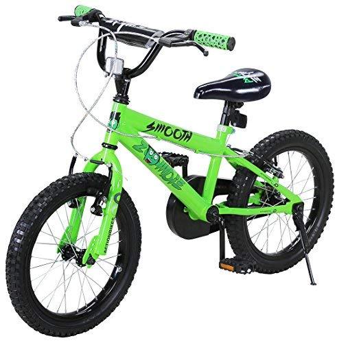 Actionbikes Kinderfahrrad Zombie - 16 Zoll - V-Break Bremse vorne - Stützräder - Luftbereifung - Ab 4-7...