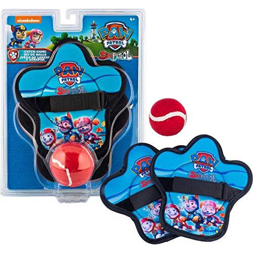 SwimWays PAW Patrol Klettballspiel für Kinder ab 4 Jahren mit 2 Fangscheiben und 1 Klettball