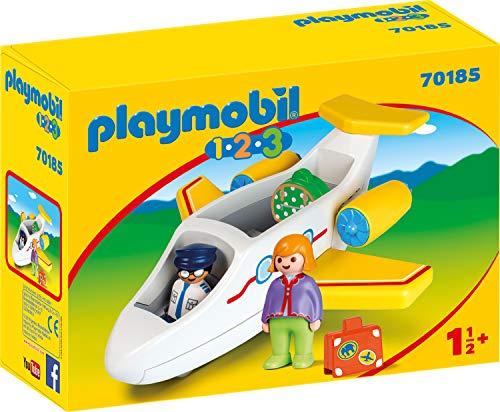 Playmobil 70185 1.2.3 Passagierflugzeug, bunt