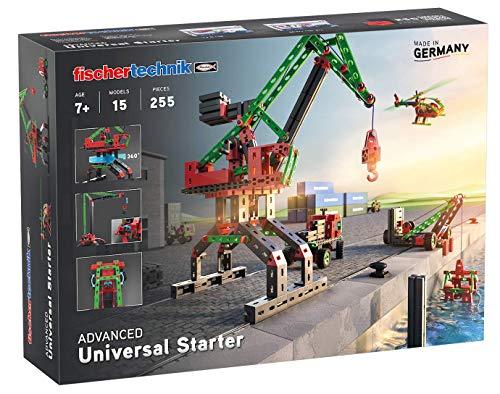 fischertechnik 536618 Konstruktionsspielzeug Universal Starter - das Bauset für junge Konstrukteure ab 7...