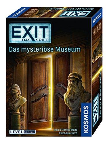 KOSMOS 694227 - EXIT - Das Spiel, Das mysteriöse Museum, Level: Einsteiger, Escape Room Spiel, für 1...