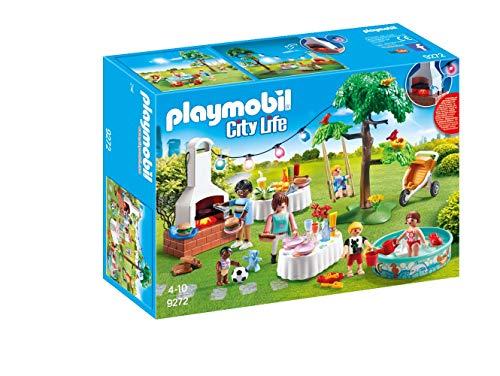 PLAYMOBIL City Life 9272 Einweihungsparty, Mit Lichteffekten, Ab 4 Jahren