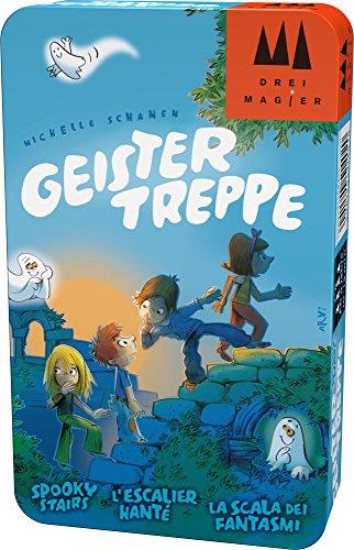 Hans im Glück Schmidt Spiele DREI Magier Spiele 51402 Geistertreppe, DREI Magier Reisespiel in der...