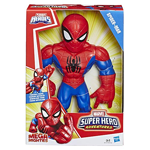 Hasbro Playskool Heroes,E4147ES0, Playskool Heroes Marvel Super Hero Adventures Mega Mighties Spider-Man,...