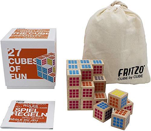 FRITZO CUBE - Das raffinierteste 3D Denk- & Würfelspiel aller Zeiten! Die kreative Herausforderung für...