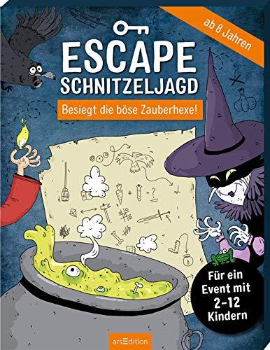 Escape-Schnitzeljagd - Besiegt die böse Zauberhexe!: Für ein Event mit 2-12 Kindern |...