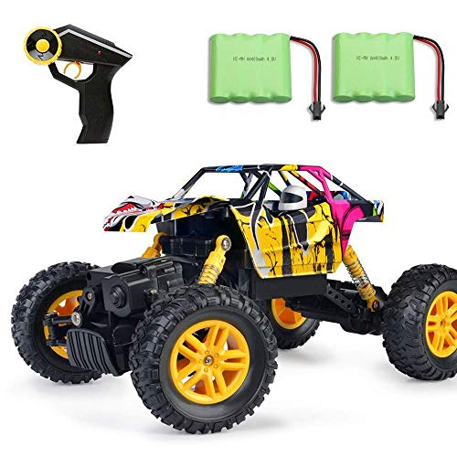 MaxTronic RC Cars, RC Auto 4WD Offroad Rock Crawler 2,4 GHz 1:18 Funk-Fernbedienung Fernsteuerung...