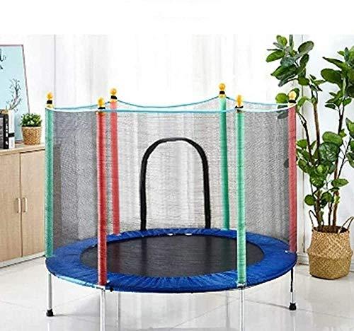 FANQIE Indoor-und Outdoor-Sport-Trampolin mit Netz Safe Mini-Trampolin für Kinder zur Verfügung Stellen...
