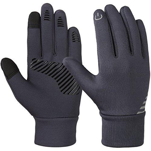 Vbiger Kinder Handschuhe Winterhandschuhe Radhandschuhe Leichte Anti-Rutsch Laufen für Jungen und...