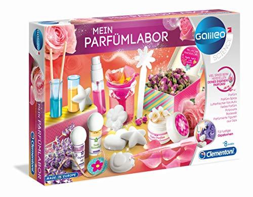 Clementoni 59070 Galileo Science – Mein Parfümlabor, wohlriechende Düfte & Parfüms,...
