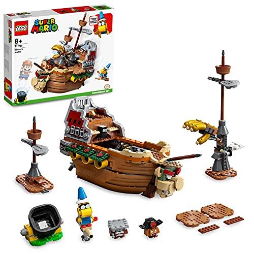 LEGO 71391 Super Mario Bowsers Luftschiff – Erweiterungsset, baubares Kinderspielzeug zum Sammeln,...