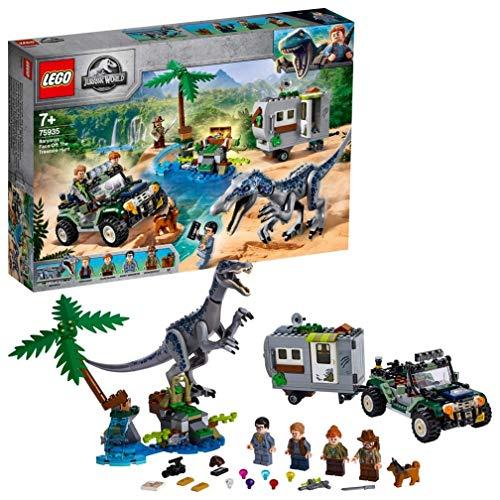 LEGO 75935 Jurassic World Baryonyx' Kräftemessen: die Schatzsuche, Dinosaurier Spielset mit...